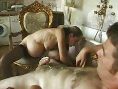 Prancūzijos Plaukuotas nėščia milf